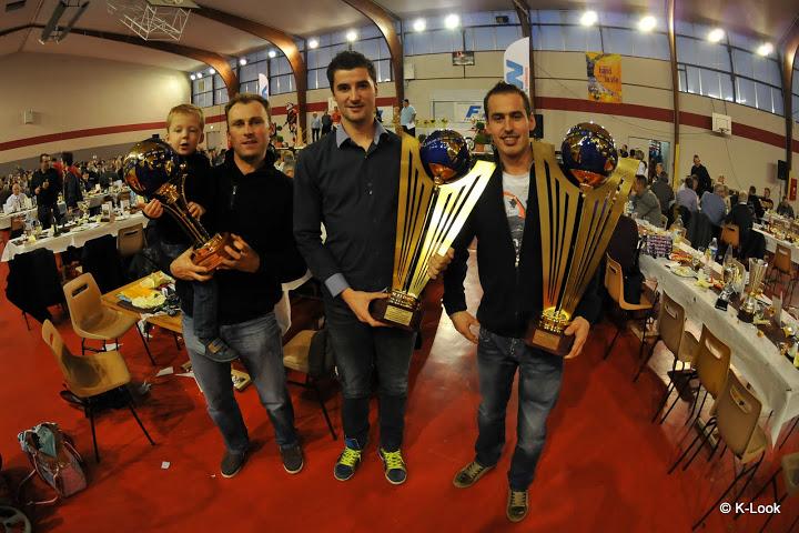 Nous avons eu l'honneur de recevoir nos 3 pilotes normands champions du monde par équipe aux récents « International Six Days Enduro 2012 »